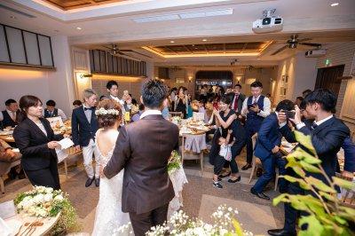 福岡,会費制結婚式,レストランウェディング,15次会,少人数結婚式