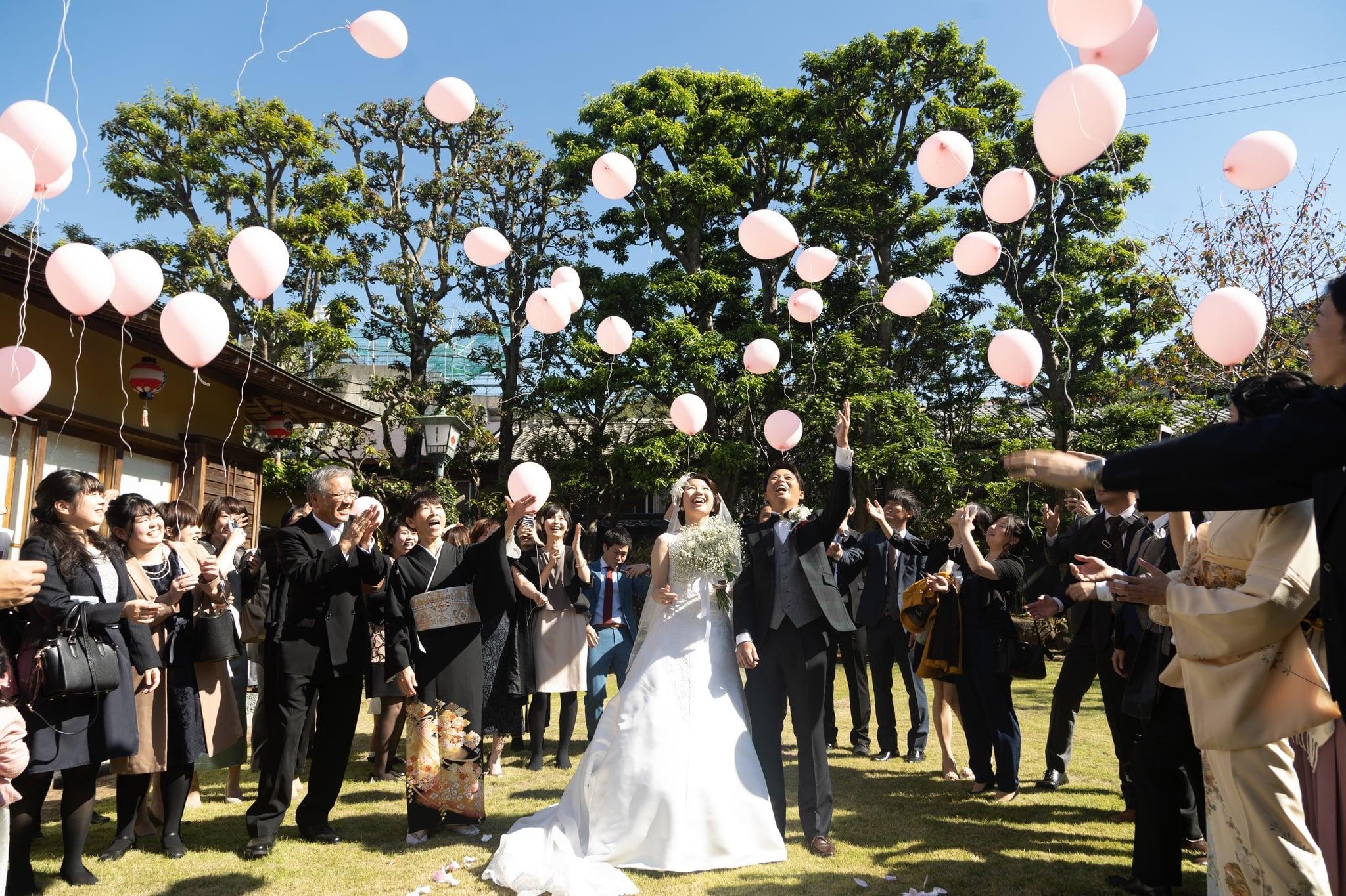 長崎,花月,結婚式,家族婚